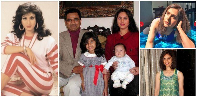 Flashback! Meenakshi Sheshadri is a mum of three kids now and this is how she looks!