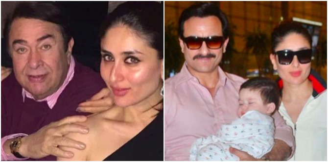 Nana Randhir Kapoor reveals why Taimur is being raised cautiously by Saif and Kareena