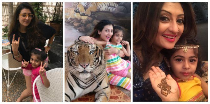 These pics of Juhi Parmar with daughter Samaira will make your day!