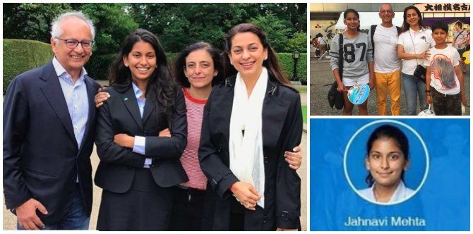 Juhi Chawla's Daughter: Here She Is! Jhanvi Mehta Is A Big Girl Now