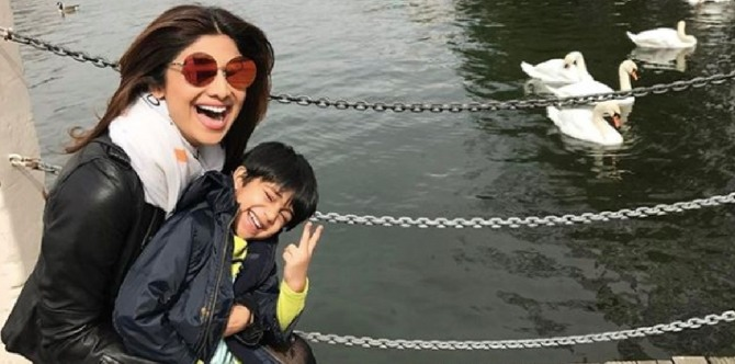 Mum Shilpa Shetty Kundra is not forcing son Viaan Raj to take up THIS vocation!