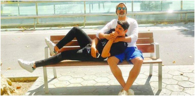 On his 50th birthday dad Akshay Kumar did the unthinkable for his son Aarav!