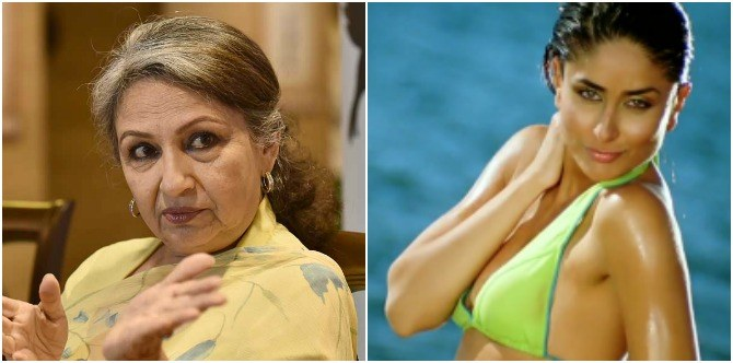 Kareena Kapoor Khan wore a bikini in front of her saasuma and THIS was her reaction!