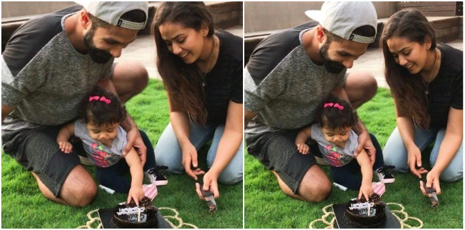 The adorable Misha Kapoor steals the limelight on mum Mira's simple birthday!
