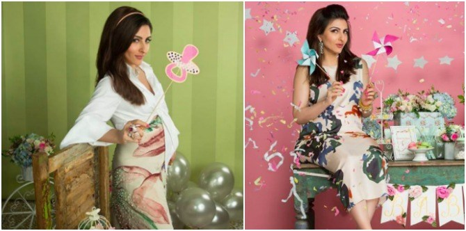 Here's how Soha Ali Khan has maintained a petite frame throughout her pregnancy!