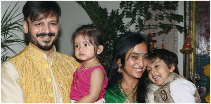 So cute! Vivek Oberoi's kids are all grown up and look oh-so adorable!