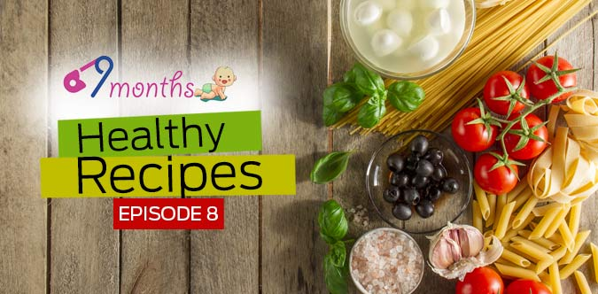 Nine Months: Healthy recipes for pregnant mums