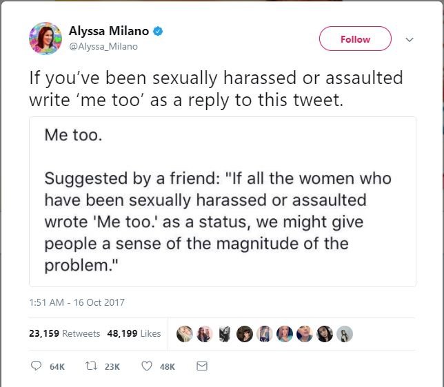#MeToo: Have you also faced sexual harassment or assault? Let's speak up together!