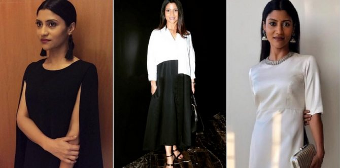 A slimmer looking Konkona has clearly undergone a dramatic transformation!