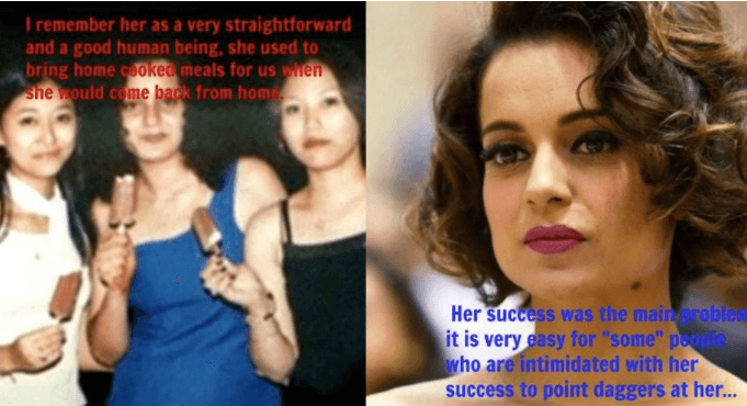 Kangana's school friend reveals the actor's true side in a letter....
