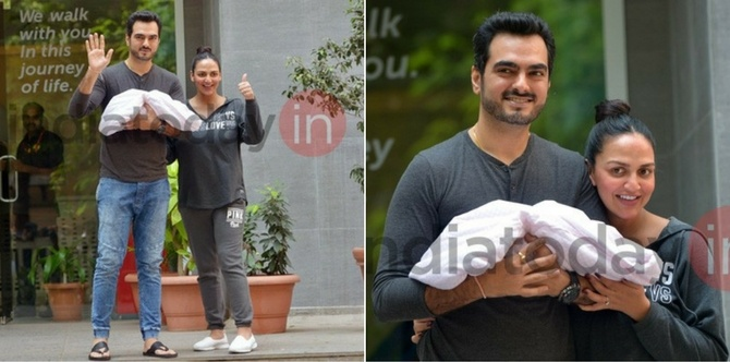 Congratulations! It's a dream girl for new parents Esha Deol and Bharat Takhtani