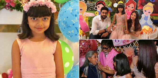 In pics: Six-year-old Aaradhya's 'enchanted meadow' was straight out of a fairy tale