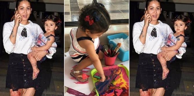 Why Mira Rajput's strategy on how to teach toddlers colours can work for your kids too!