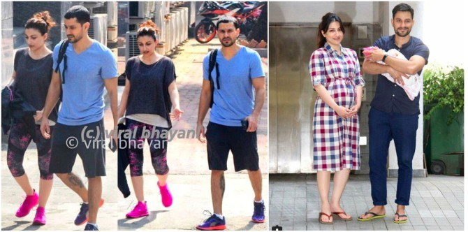 New mum Soha Ali Khan is back to the gym two months after delivery