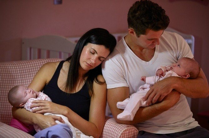 Husbands contribute to mum stress twice as much as the kids do!