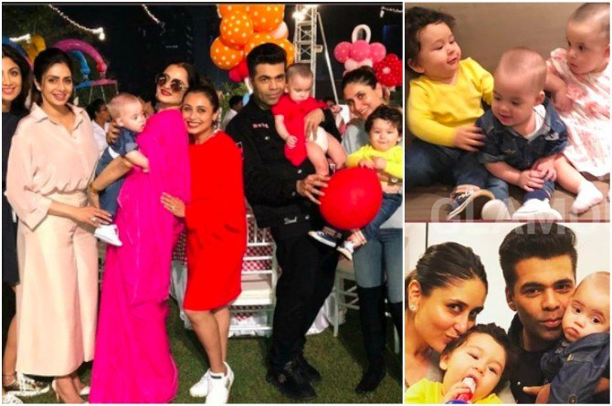 Guess who stole the show at Rani Mukerji's daughter Adira's star-studded birthday!