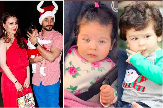 First Pics: Soha Ali Khan's daughter Inaaya Naumi and cousin Taimur have something in common!