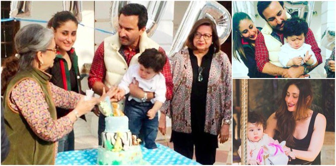 Taimur's first birthday album