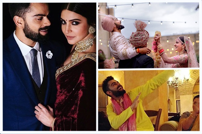 In Pics: A walk through the Virat Kohli and Anushka Sharma's fairytale wedding!