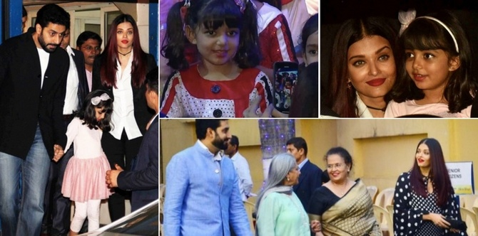 Watch: Aaradhya Bachchan is the star of the evening at her annual day function