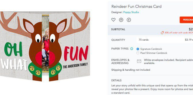 Forgot to send X'mas cards out? No prob! Here are 5 best websites to get holiday cards online!