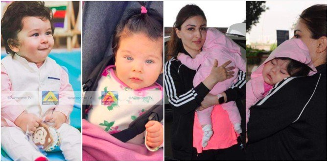 Taimur's cousin, Inaaya Naumi Kemmu, looks exactly like him! (Yes, really!)