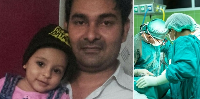 OMG! Doctors remove LED bulb from seven-month-old girl's lungs