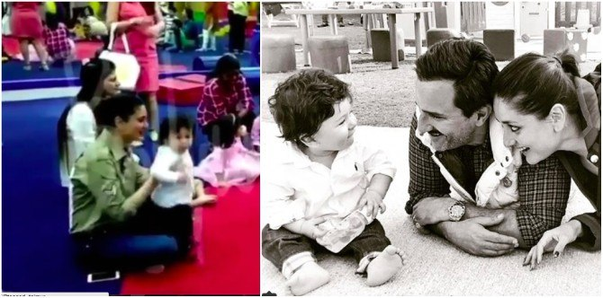 Watch: You cannot ignore Mummy Kareena Kapoor's expressions in this cute Taimur video!