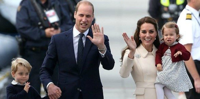 Why do you rarely see Prince William carrying Princess Charlotte in public?