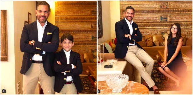 Stepmom Priya Sachdev posts adorable pics of Karisma Kapoor's kids with dad Sanjay
