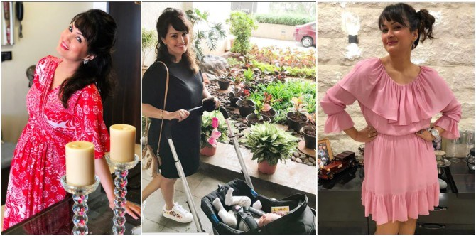 New mommy Nisha Rawal shares her post-pregnancy weight loss plan!