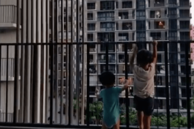 balcony safety for children