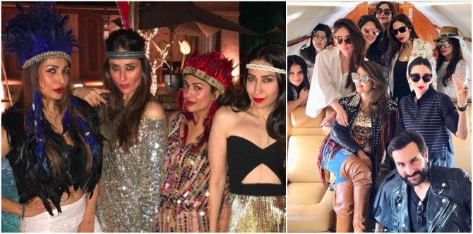 In Pics: How sisters Kareena and Karisma Kapoor celebrated friend Amrita Arora's 40th birthday!