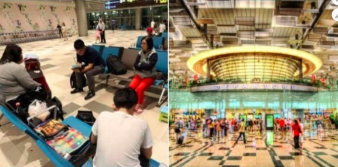 Homeless in Singapore: 3 Generation family 'lives' in Changi Airport