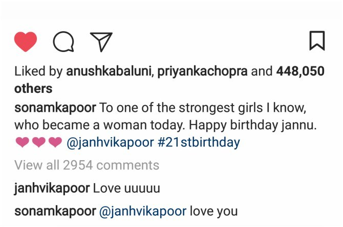 This is what the Kapoor Family is doing to cheer Janhvi Kapoor on her 21st birthday