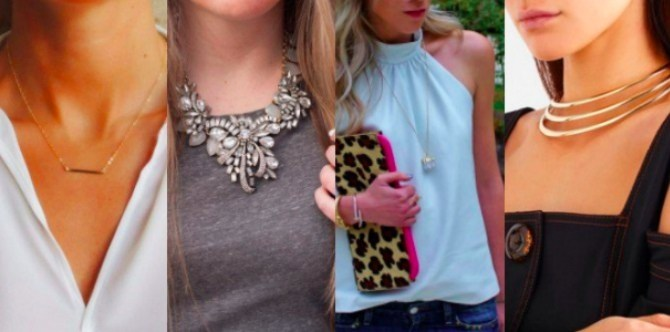 How to match your necklace to your neckline