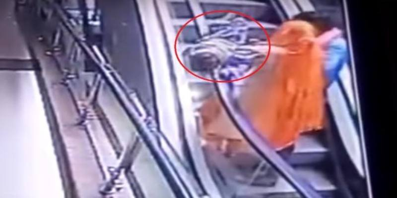 Baby Falls To Death From Escalator Reminding Us To Never Neglect Child Safety