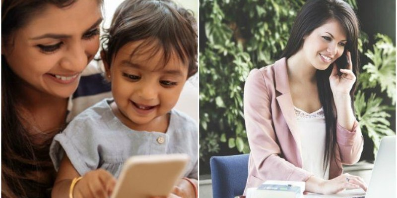Kids With Working Mums Grow Into Happy Adults