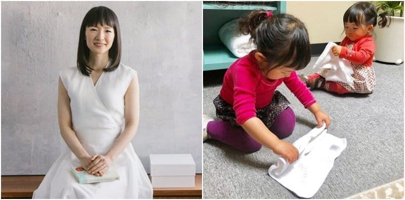 Marie Kondo's Secrets To Decluttering For Tired Parents!