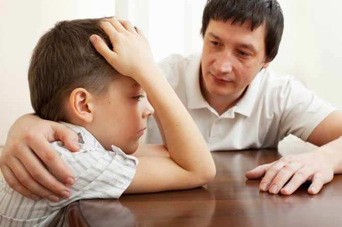 Saying 'Everything will be alright…' can hurt your child's self esteem