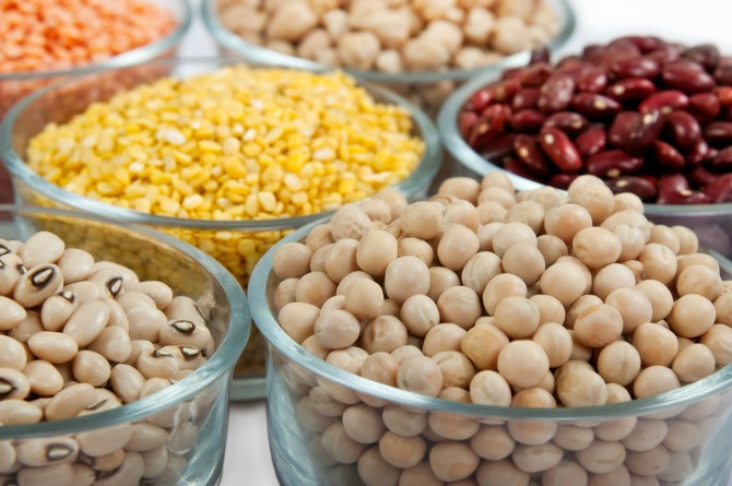 Pulses and lentils (dal)