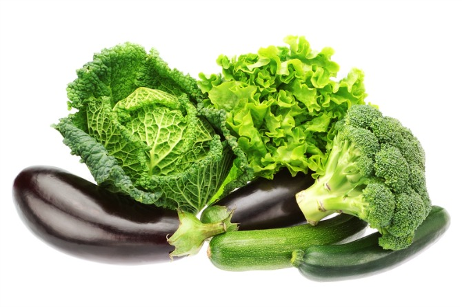 Green and leafy vegetables