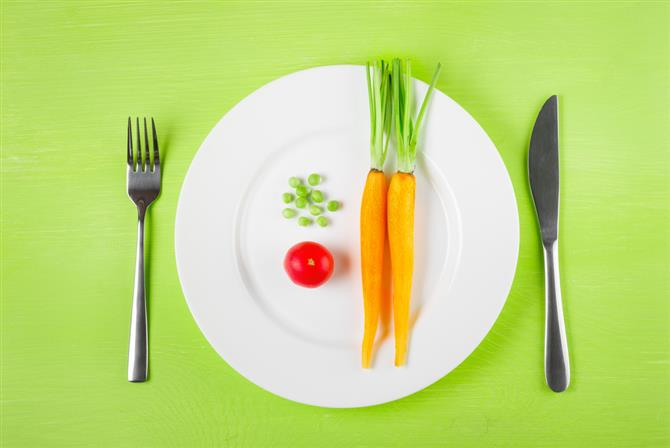 Serve one new vegetable with a familiar one