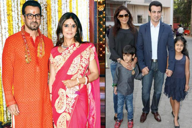 Ronit Roy and Neelam Bose