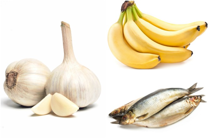 Banana, fish and garlic are easily available fertility-boosting foods