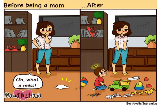Cleaning up used to be much easier!