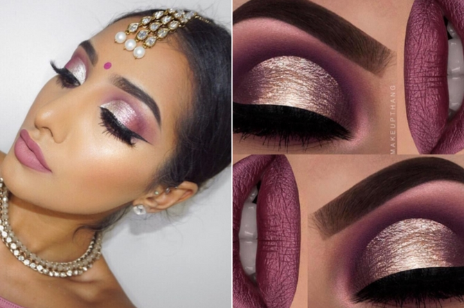 Opt for the rose gold magic on your eyes