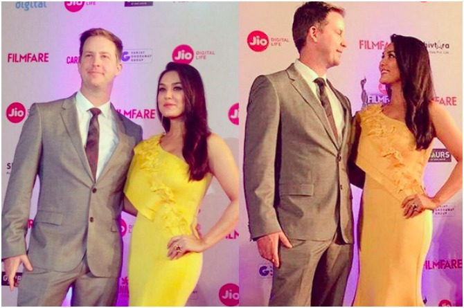 Priety Zinta and Gene Goodenough