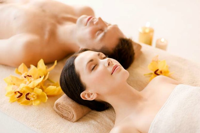 Go for a couple's spa