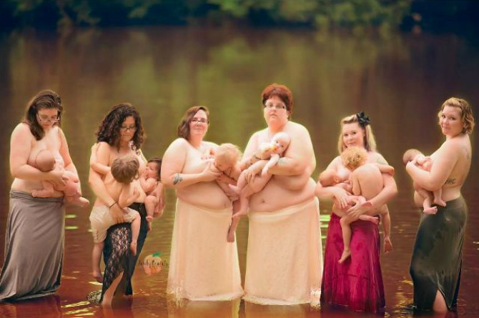 5 photos that all breastfeeding mums should see